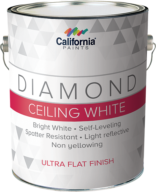 ceiling white paintDiamond Ceiling White  California Paints