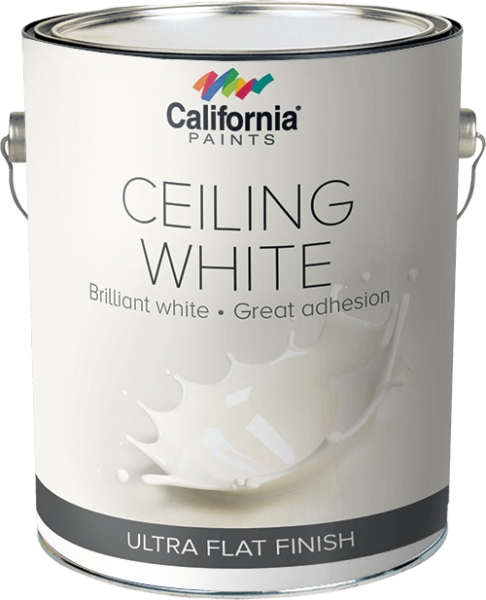 Ceiling Whites California White Flat Latex Is An Anti Splatter Smooth Flowing General Purpose