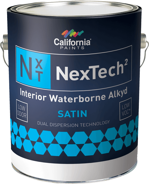 nextech waterborne alkyd interior paint california paints