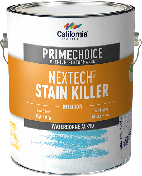 Nextech waterborne alkyd stain killer california paints for What are alkyd paints
