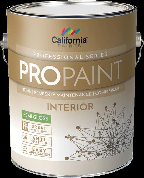 propaint interior paint california paints. Black Bedroom Furniture Sets. Home Design Ideas