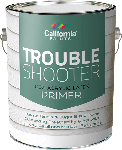 Trouble shooter 100 acrylic latex wood primer for 100 acrylic latex paint
