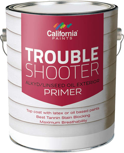 Trouble shooter linseed alkyd oil wood primer california for What are alkyd paints